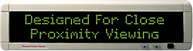 Personal Priority LED sign